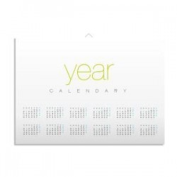 Calendriers en forex format poster