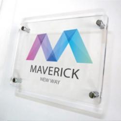Ecriteaux/plaques plexiglass avec épaiss