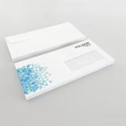 Enveloppes Personnalisées 110x230 mm.