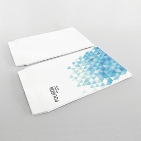 Enveloppes Personnalisées 160x230 mm. sans fenêtre recto seulement