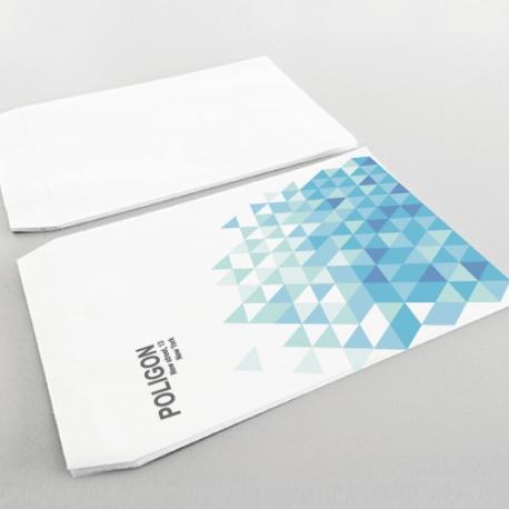 Enveloppes Personnalisées 230x330 mm. sans fenêtre recto seulement