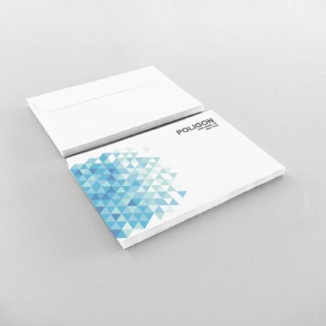 Enveloppes Personnalisées 114x162 mm. sans fenêtre recto seulement