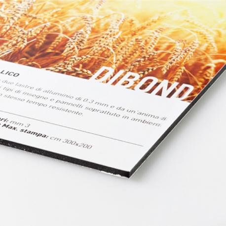 Panneau Alu-Dibond 3 mm (aluminium)