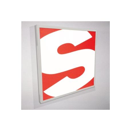 Enseigne lumineuse en plexiglas imprimé