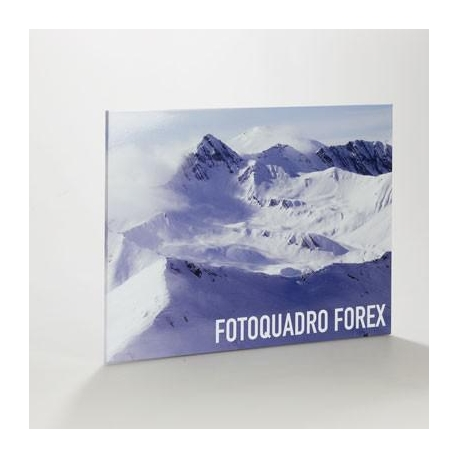 Tableau photo en Forex 10 mm