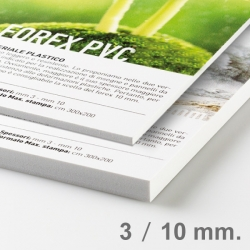 Panneau Forex Pvc 3 mm ou 10 mm