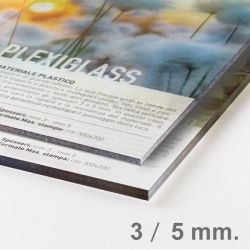 Panneau Plexiglas transparent 3 mm ou 5