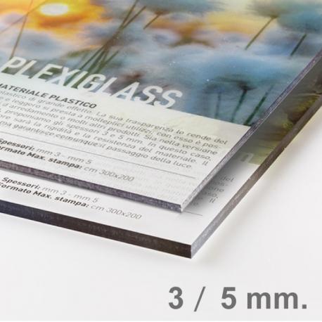 Panneau Plexiglas transparent 3 mm ou 5 mm