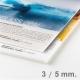 Panneau Plexiglas translucide 3 mm ou 5 mm