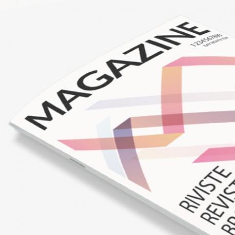 Brochure papier 170g - reliure agrafée