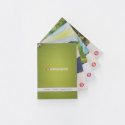 Brochure d'échantillons