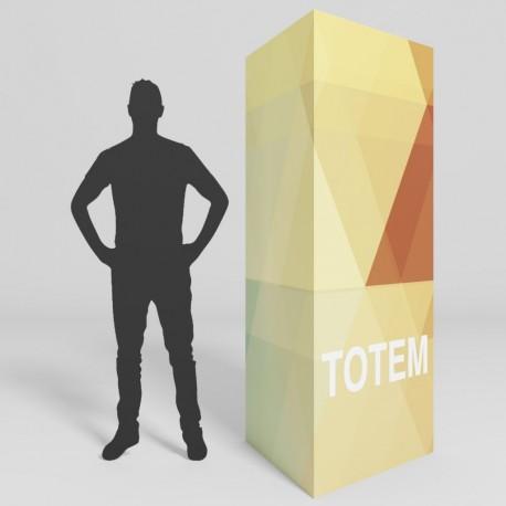 Totem 3 faces 95X200 cm