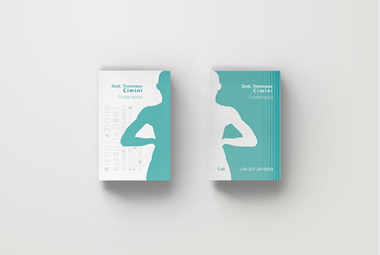 Bien connu Créer des cartes de visite pour kiné - Stampaprint FR ZK62