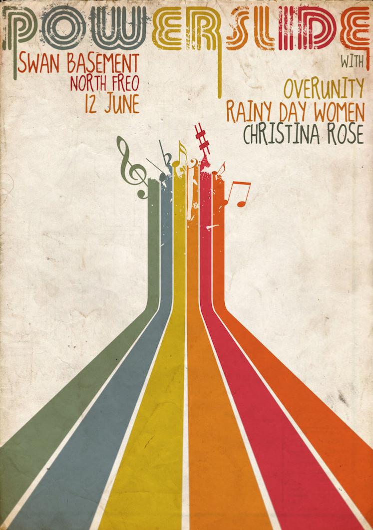 design de flyers pour concerts