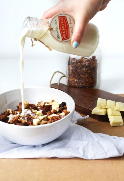 granola coco chocolat blanc