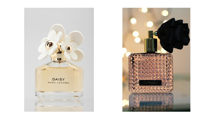 packaging parfums comparaision