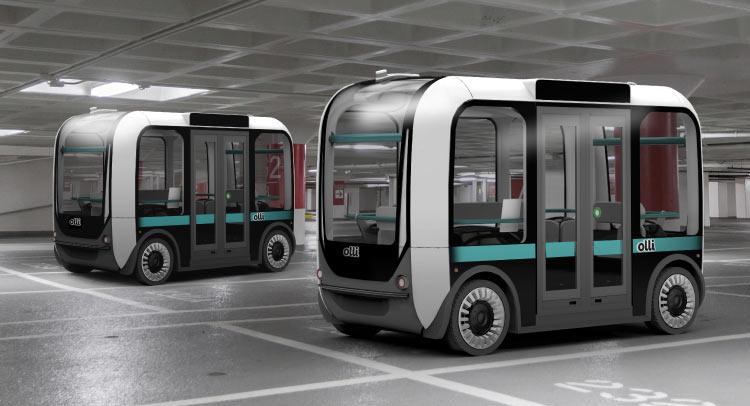 Impression en 3D: Olli, le bus écolo sans chauffeur