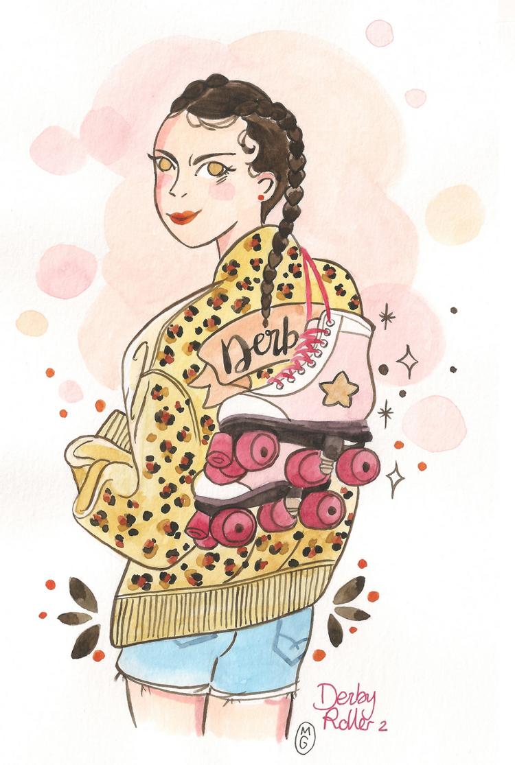 D'encre et de sel: illustration(s) de mon style de vie - Stampaprint Blog FR