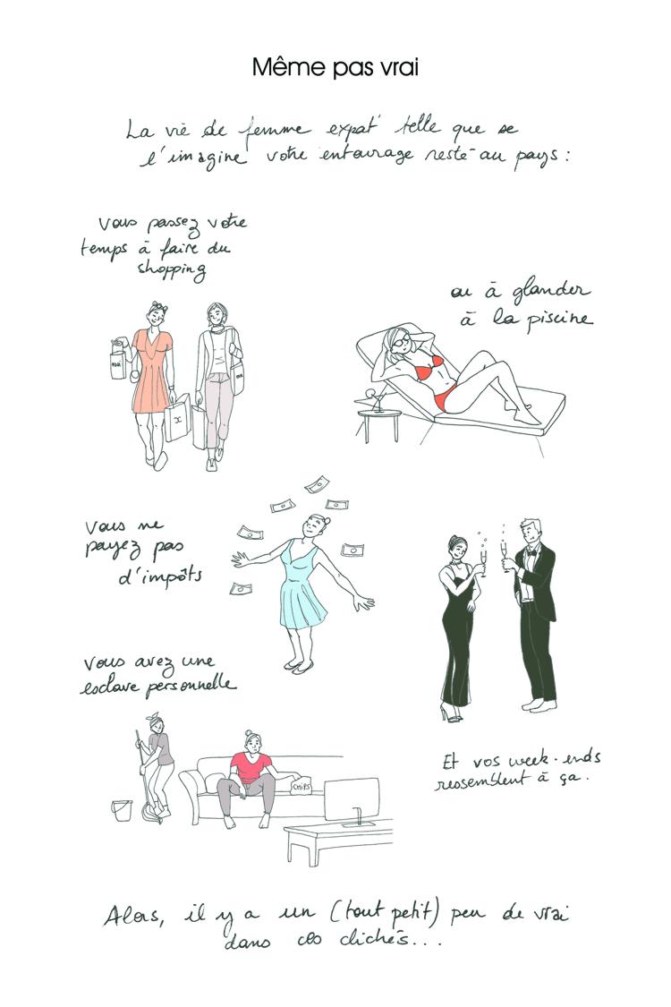 La vie d'expat' en dessins: Istanbul vue par le crayon d'une française - Stampaprint Blog FR