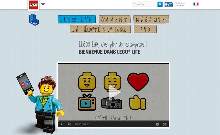 Lego Life, le réseau social des briques pensé pour les plus petits - Stampaprint Blog FR