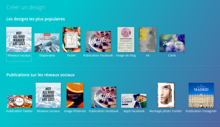 Où imprimer les fichiers réalisés avec Canva ? - Stampaprint Blog FR