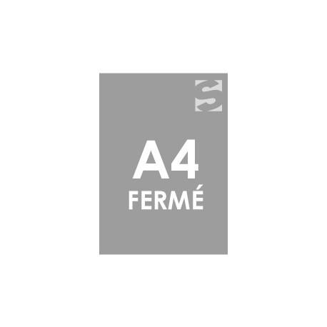 Dépliants format fermé A4 (210x297 mm)