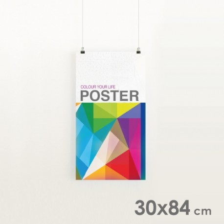 Affiches Publicitaires 30x84 cm.