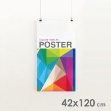 Affiches Publicitaires 42x120 cm.