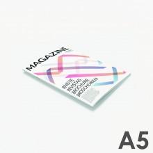 Format A5 - reliure agrafée