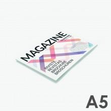 Format A5 horizontal - reliure agrafée
