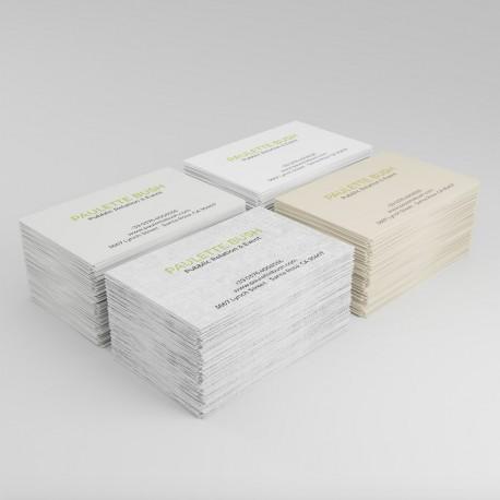 Cartes De Visite Papier Special Splendorgel Extra Blanc 300g