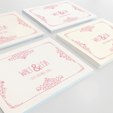 Cartes postales et cartes d'invitation Deluxe