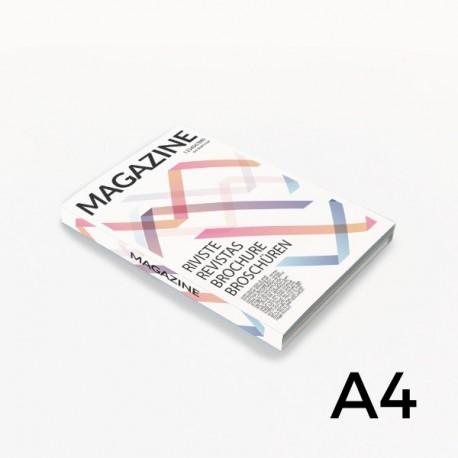 Format A4 - reliure en dos collé