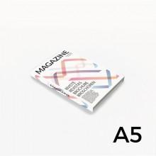 Format A5 - reliure en dos collé