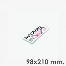 Format 98x210 horizontal - reliure