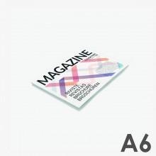 Format A6 horizontal - reliure agrafée