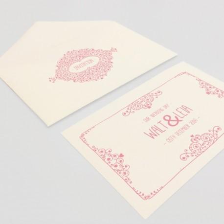 Enveloppes avec cartes d'invitation (Kit)