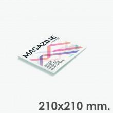 Format 210x210 - reliure agrafes