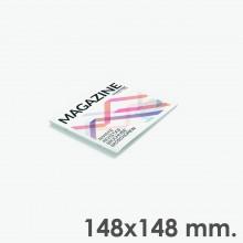 Format 148x148 - reliure agrafes
